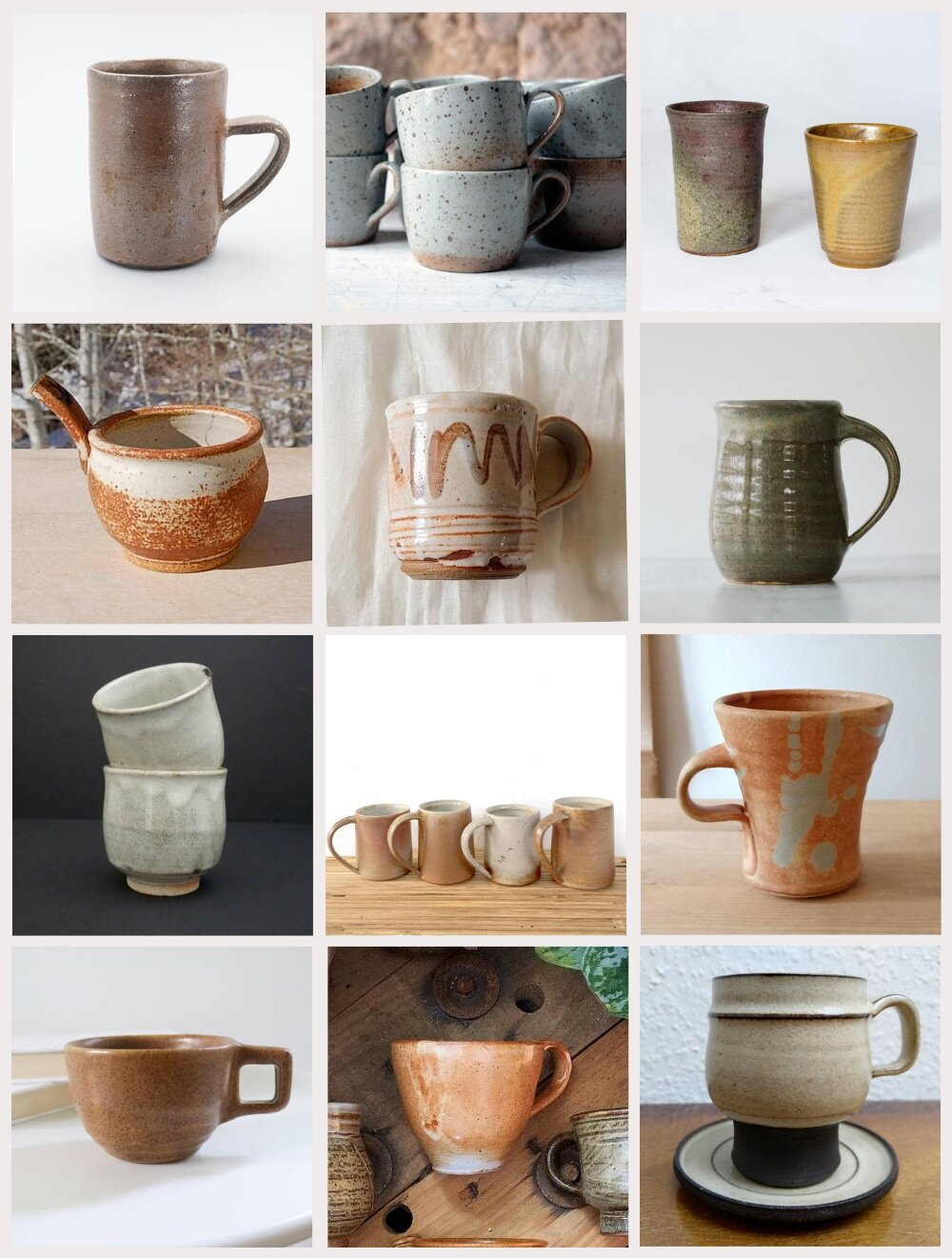 Collecting Handmade Vintage Mugs Heather Bullard