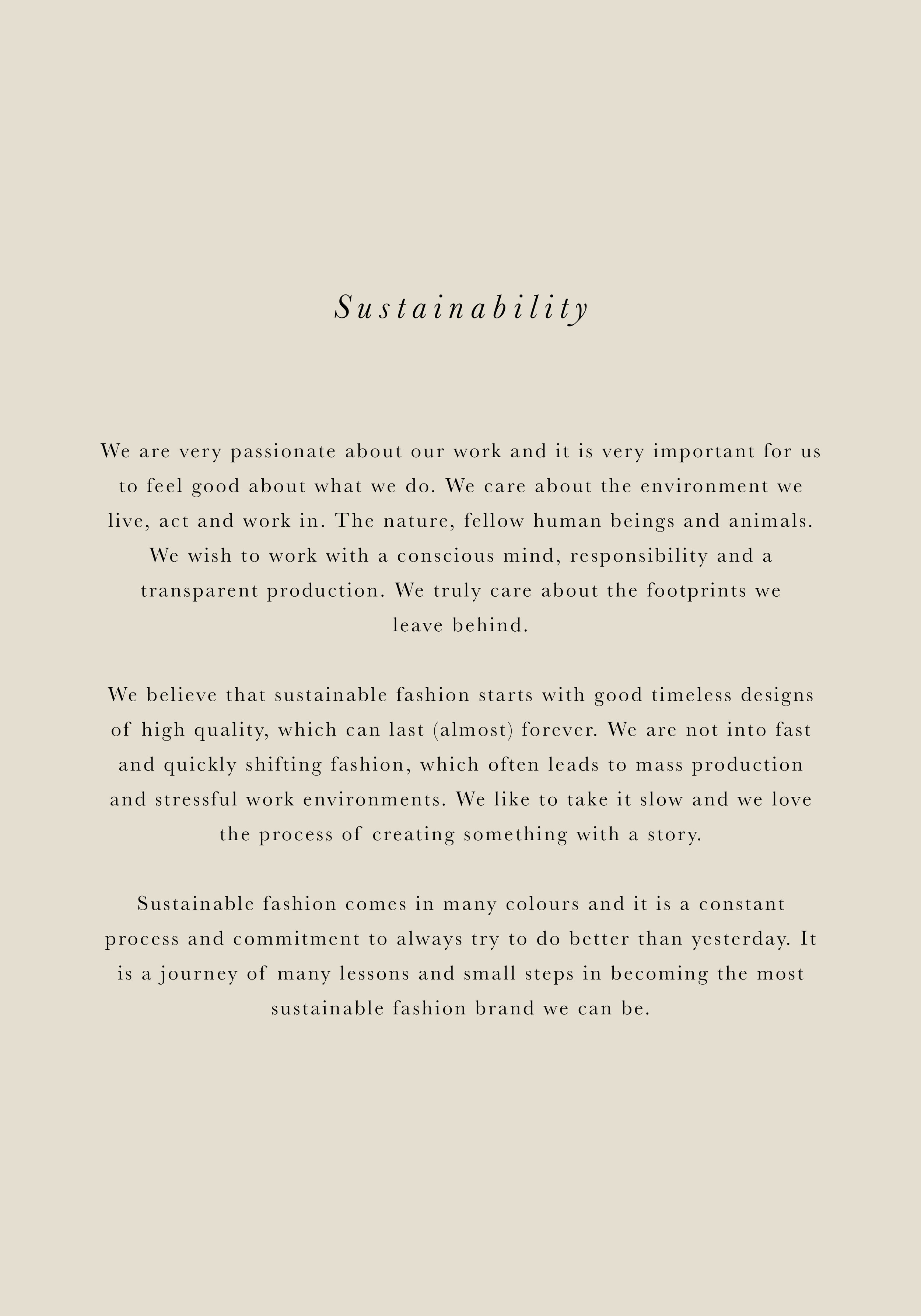 Skall Studio Sustainability