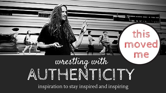 wrestling with authenticity