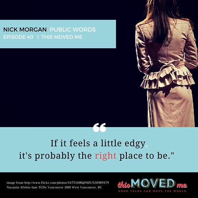TMM Nick Morgan Quote