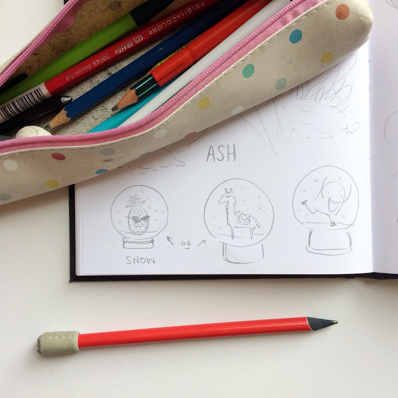1. - rough sketch
