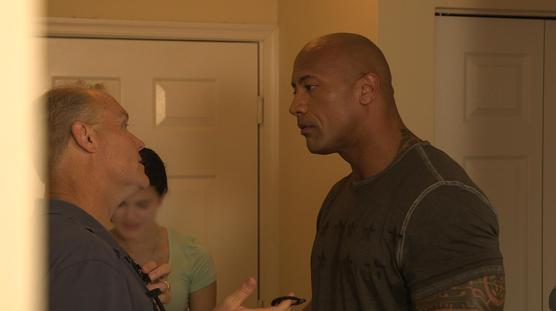 Timothy Baker Wake Up Call with Dwayne Johnson TNT