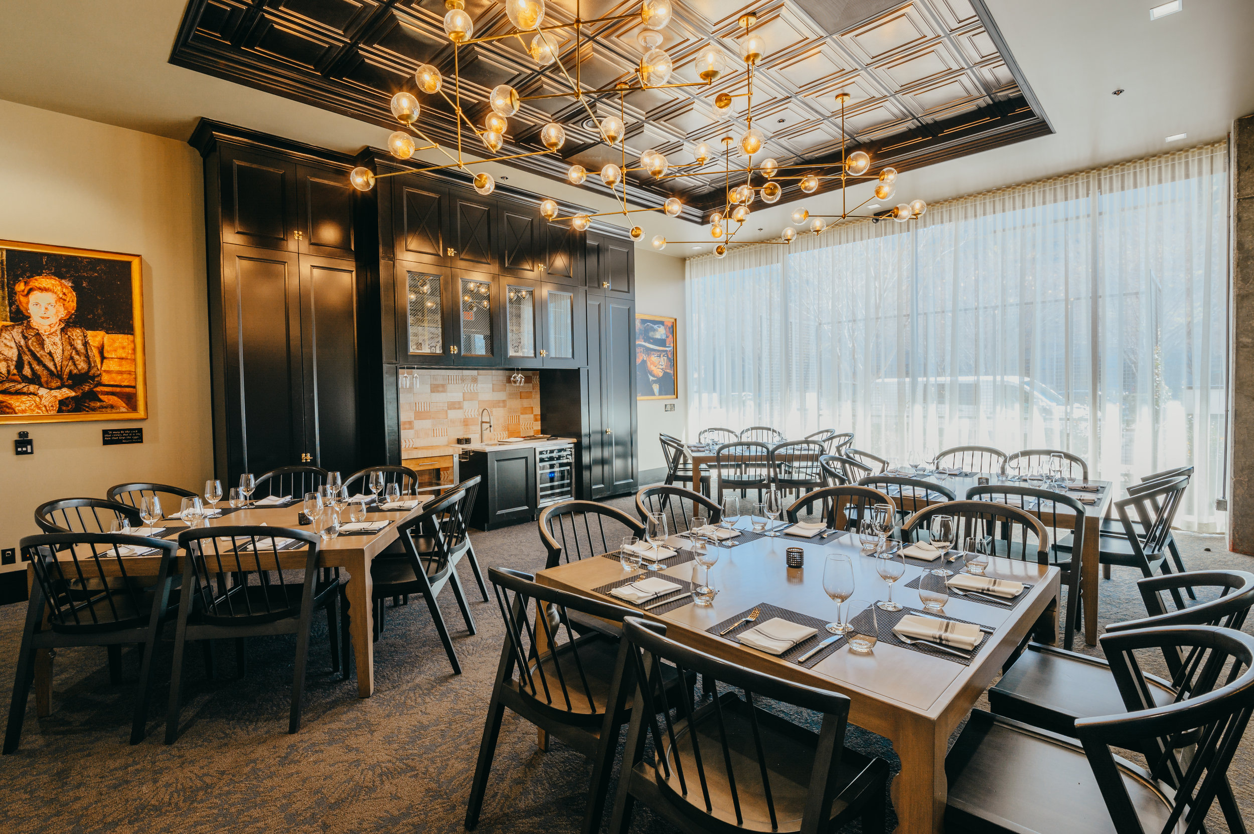Reserve The Larder for your next private dining event. - Click here for more information about the Larder pricing and options.