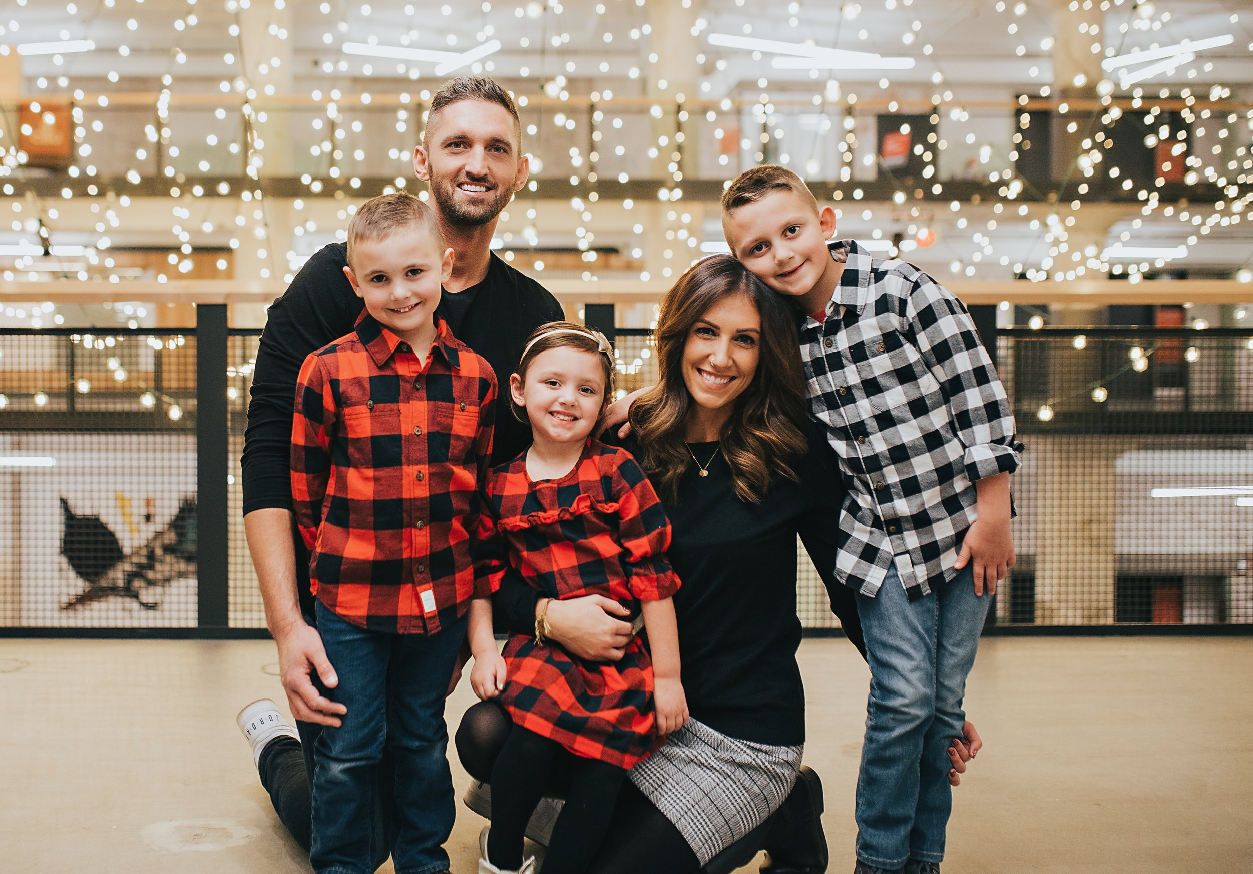- Pastor Stevie and his wife Whitney have been married for almost 9 years and have three children, Finn (7), Judah (5), and Isla (4).