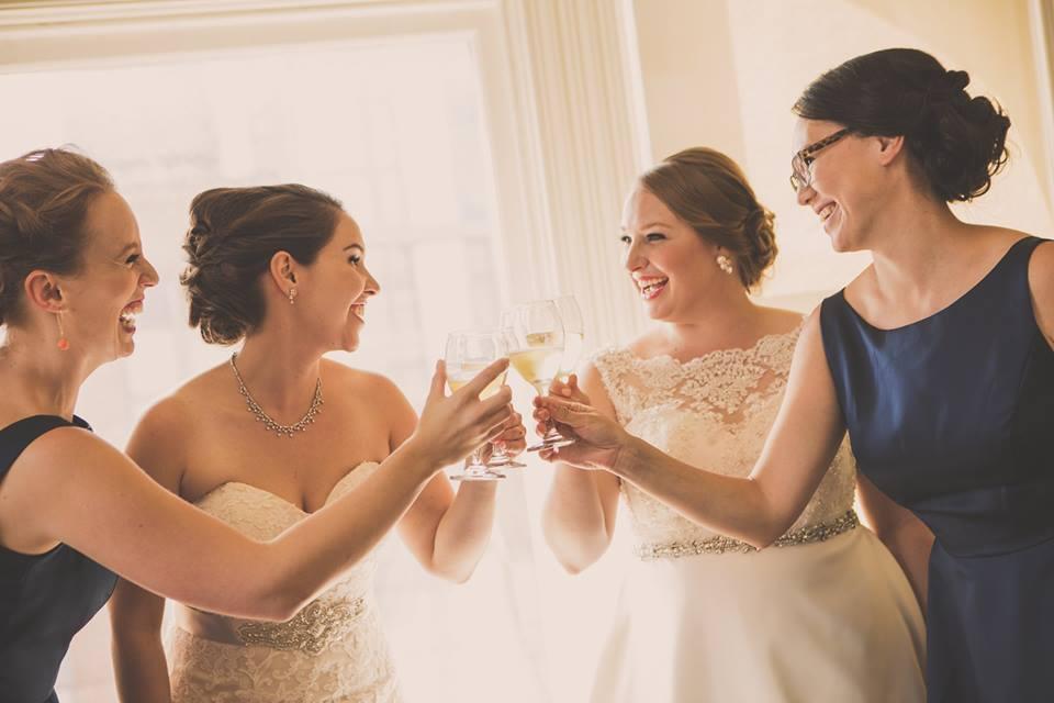 A toast amongst friends!