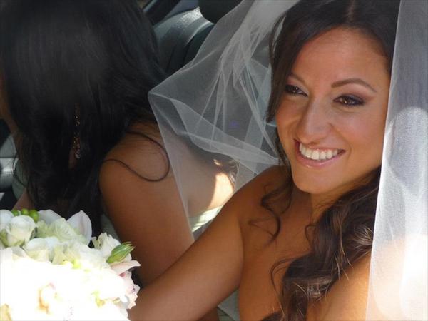 The beautiful bride!