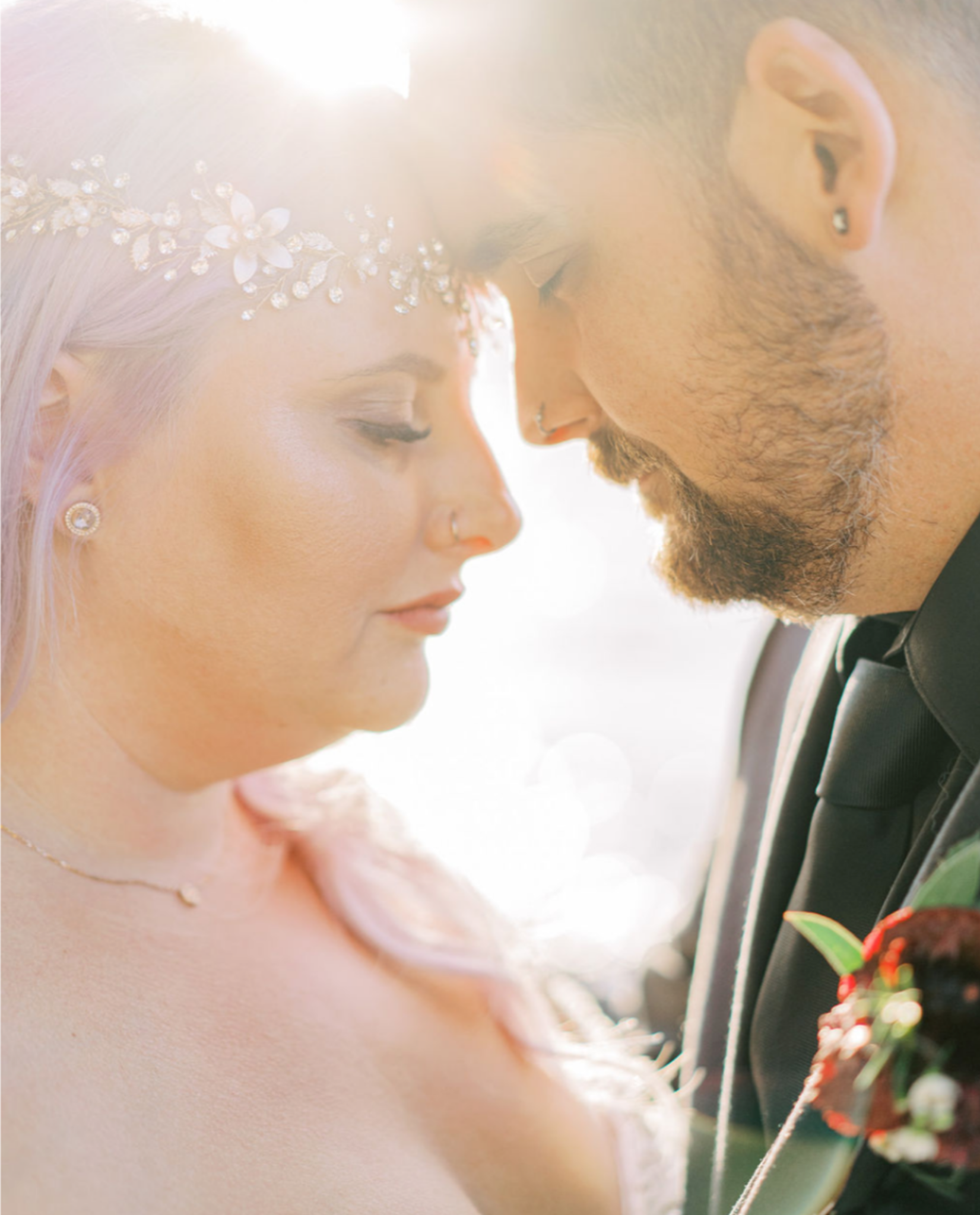 NIkki and Josh tie the knot in gorgeous Owen Sound, August 2019. Photo by Jess Imrie Photography.