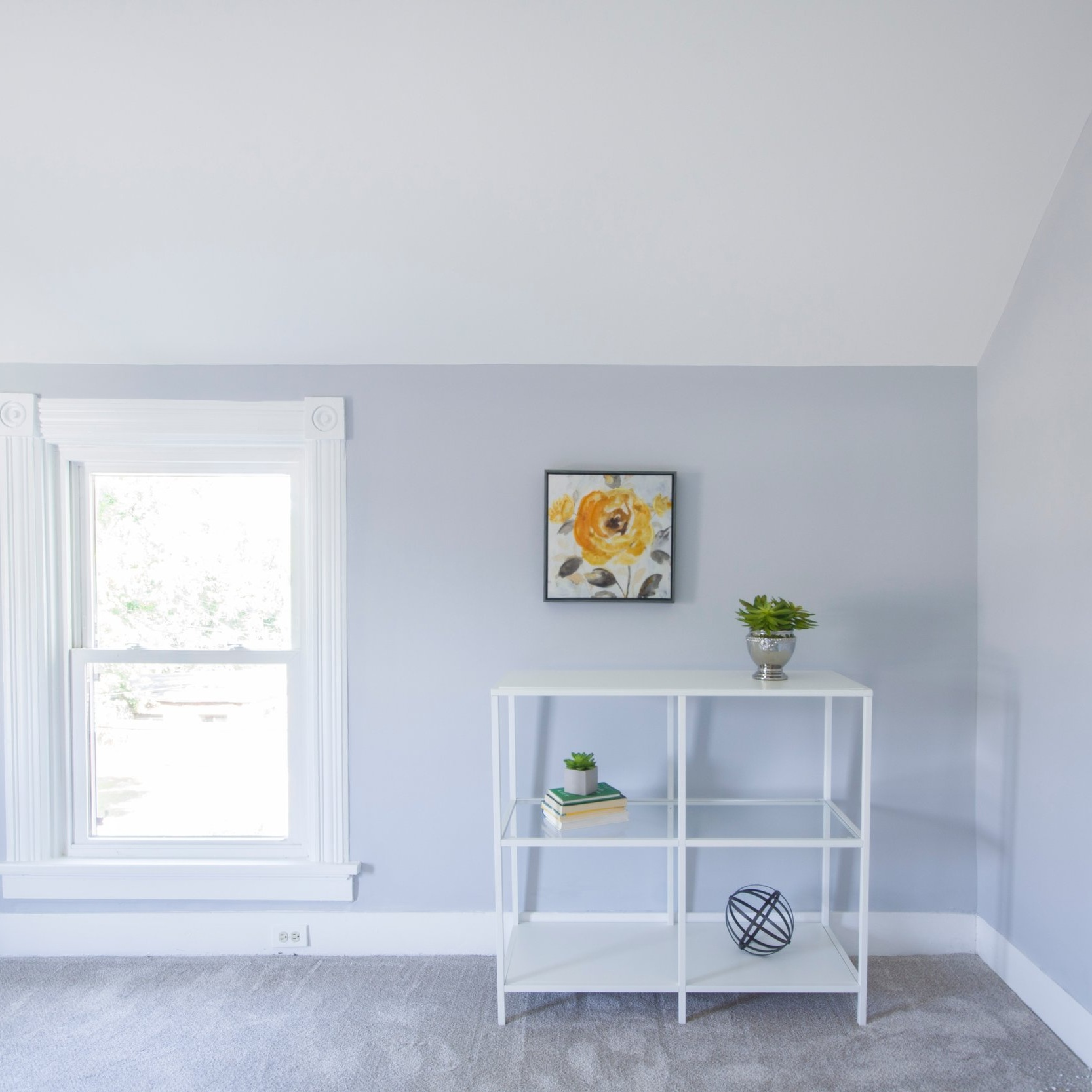 While not affected by weather, an interior needs to be kept clean and fresh-looking.