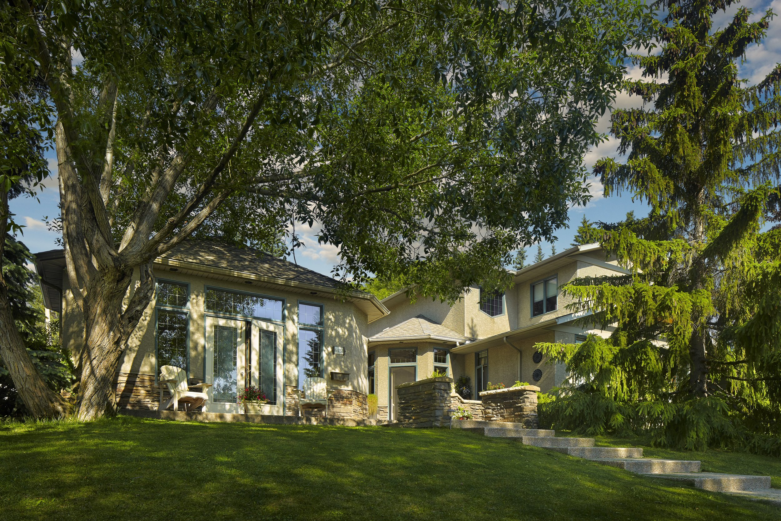 Exterior Renovation in the Calgary community of North Glenmore Park