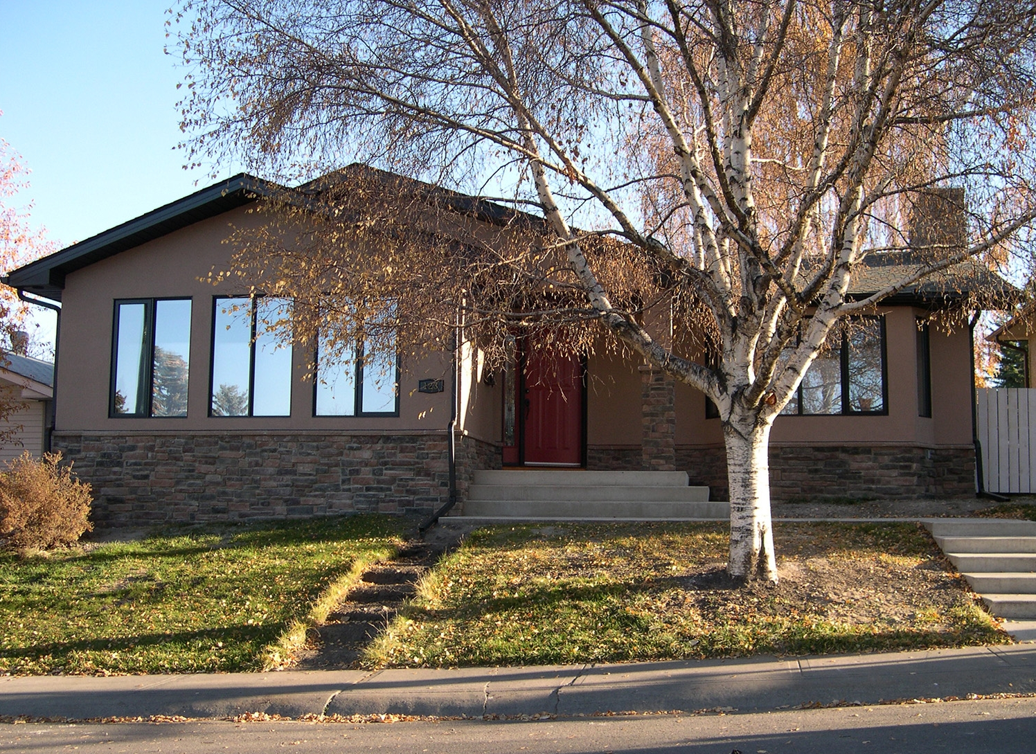 Home Addition in the Calgary Community of Fairview