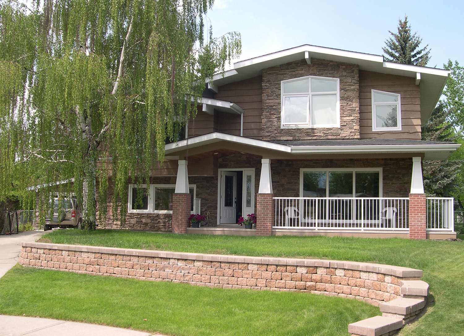 Home Addition in the Calgary Community of Acadia