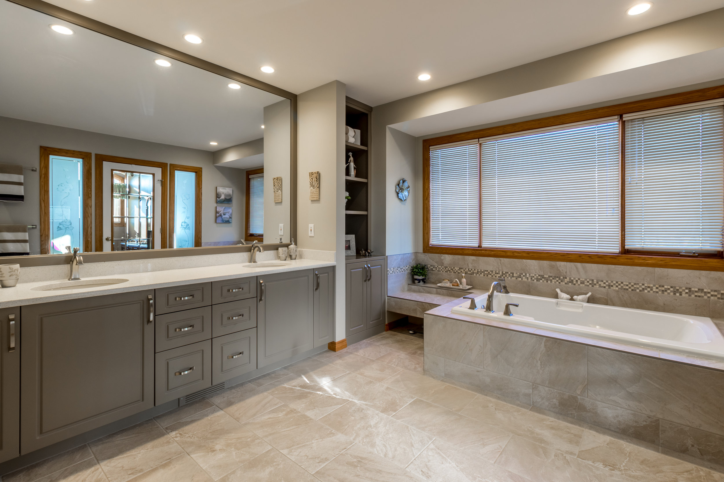 Bathroom Renovation in the Calgary community of Scenic Acres