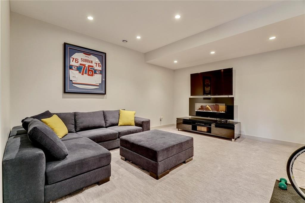 Basement Renovation in the Calgary Community of Altadore