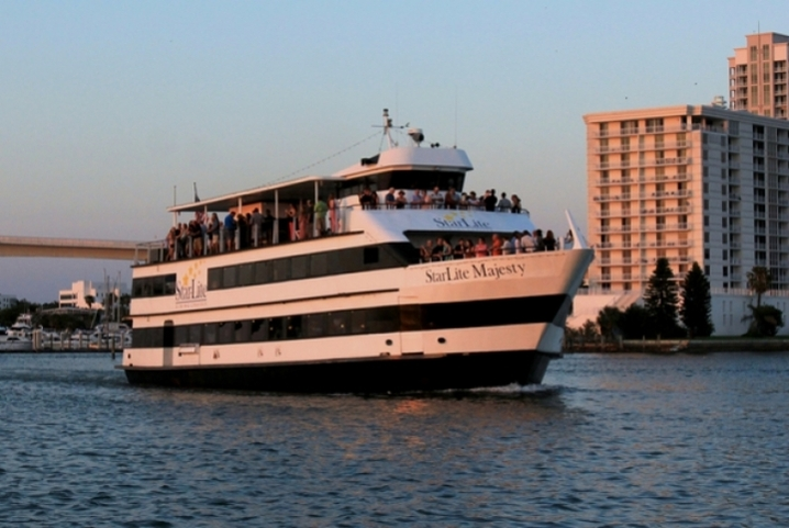 Join us for a cruise along the Intercoastal Waterway aboard the StarLite Majesty!