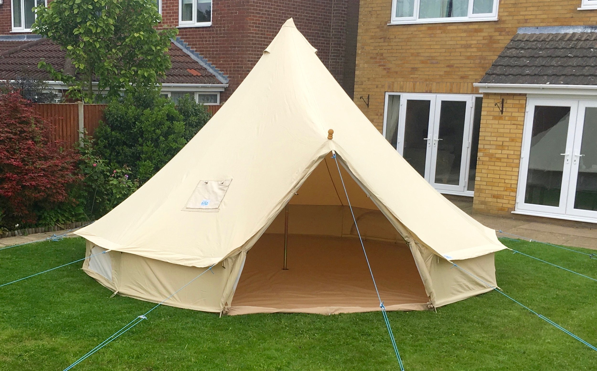 From £100 - We provide the tent for you to put your own stamp on it.