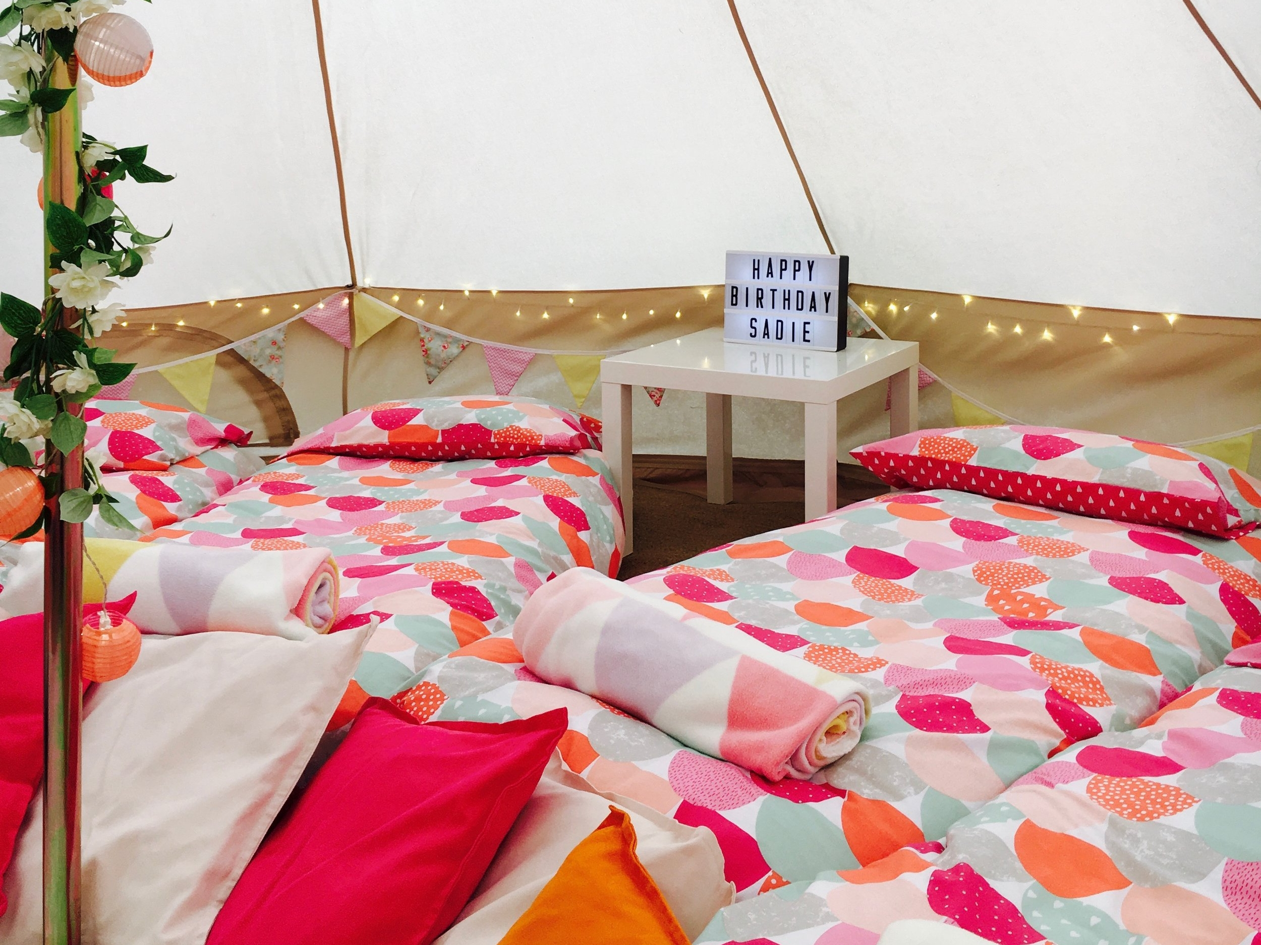 GlampOut Parties -