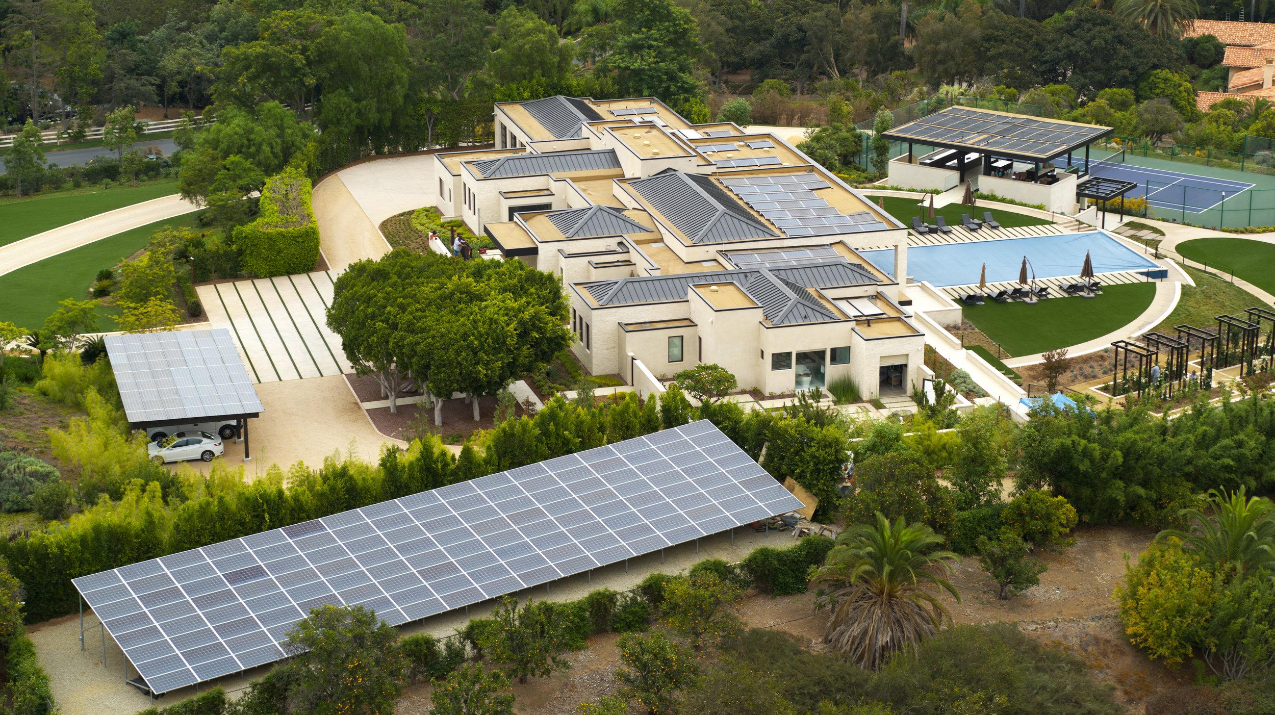 Symphony solar project in rancho santa fe, ca