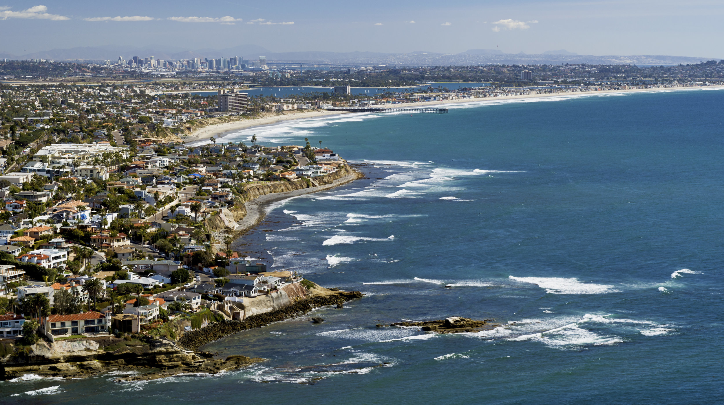 La Jolla - From UCSD to the beaches, we love droning here
