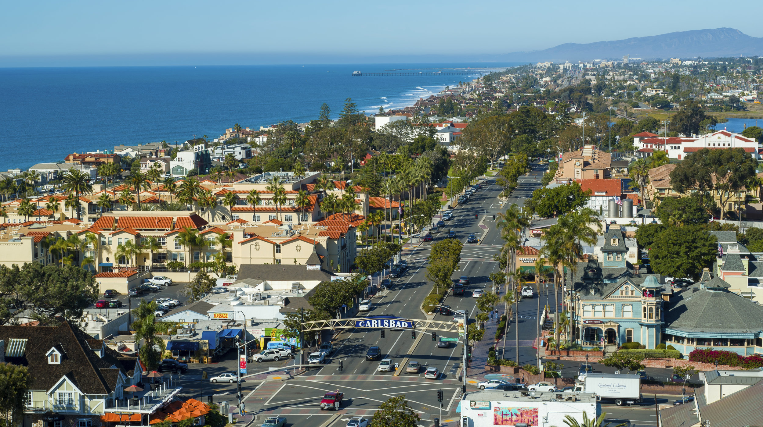 Carlsbad Village - Click below for Carlsbad drone services