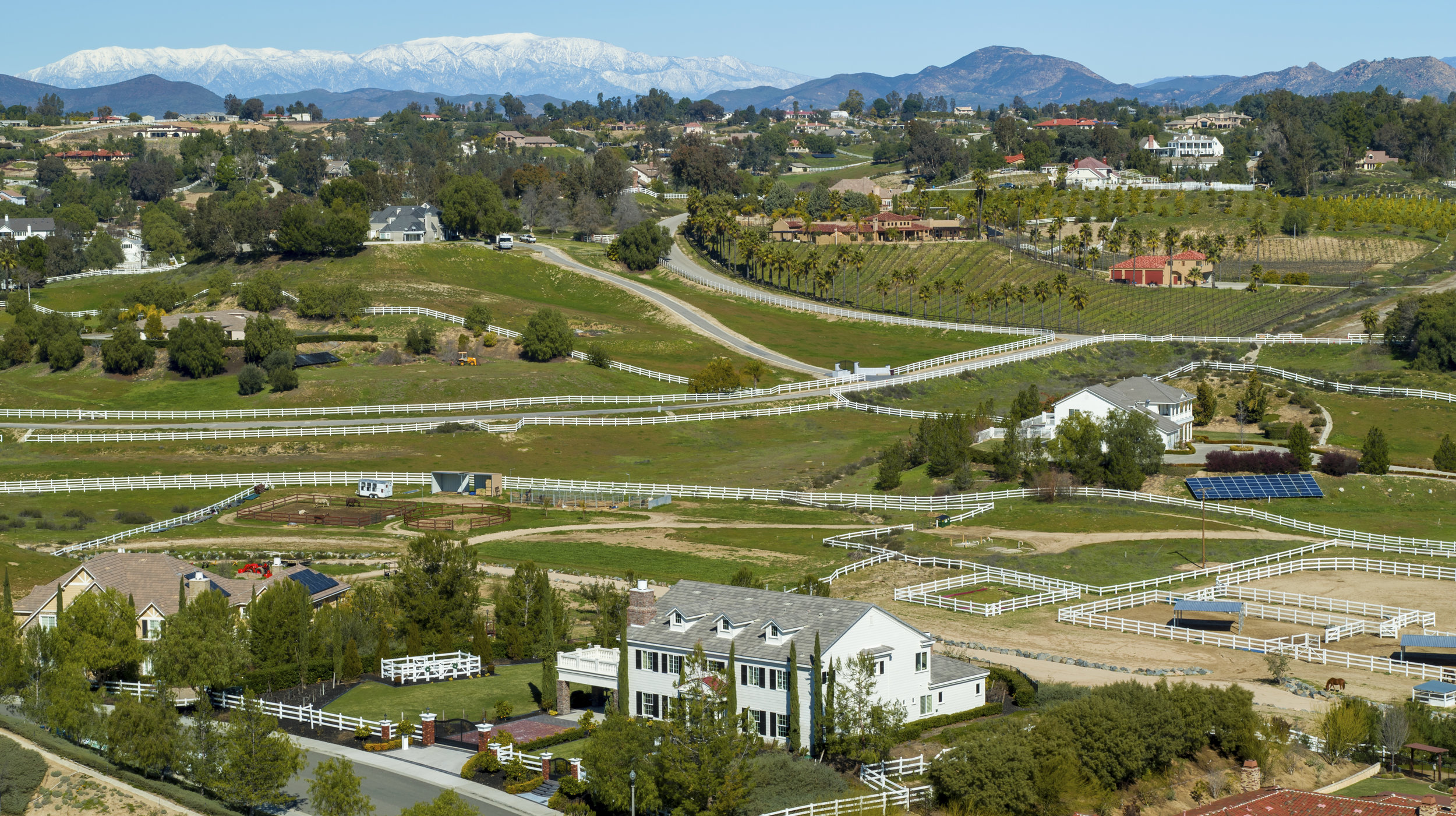 Equestrian estate in Temecula Valley