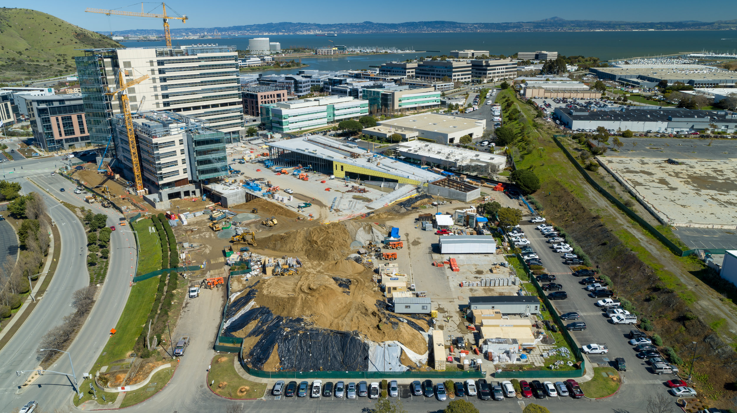 Turner Construction project in South San Francisco's biotech district