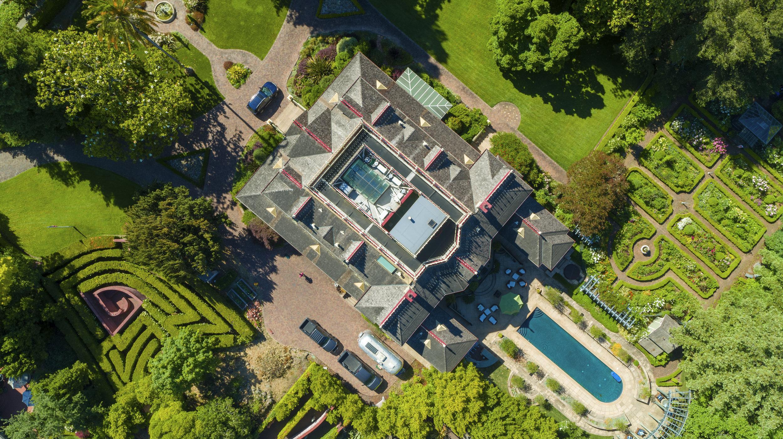"""""""Mableton"""" - The McDonald Mansion, Santa Rosa CA"""