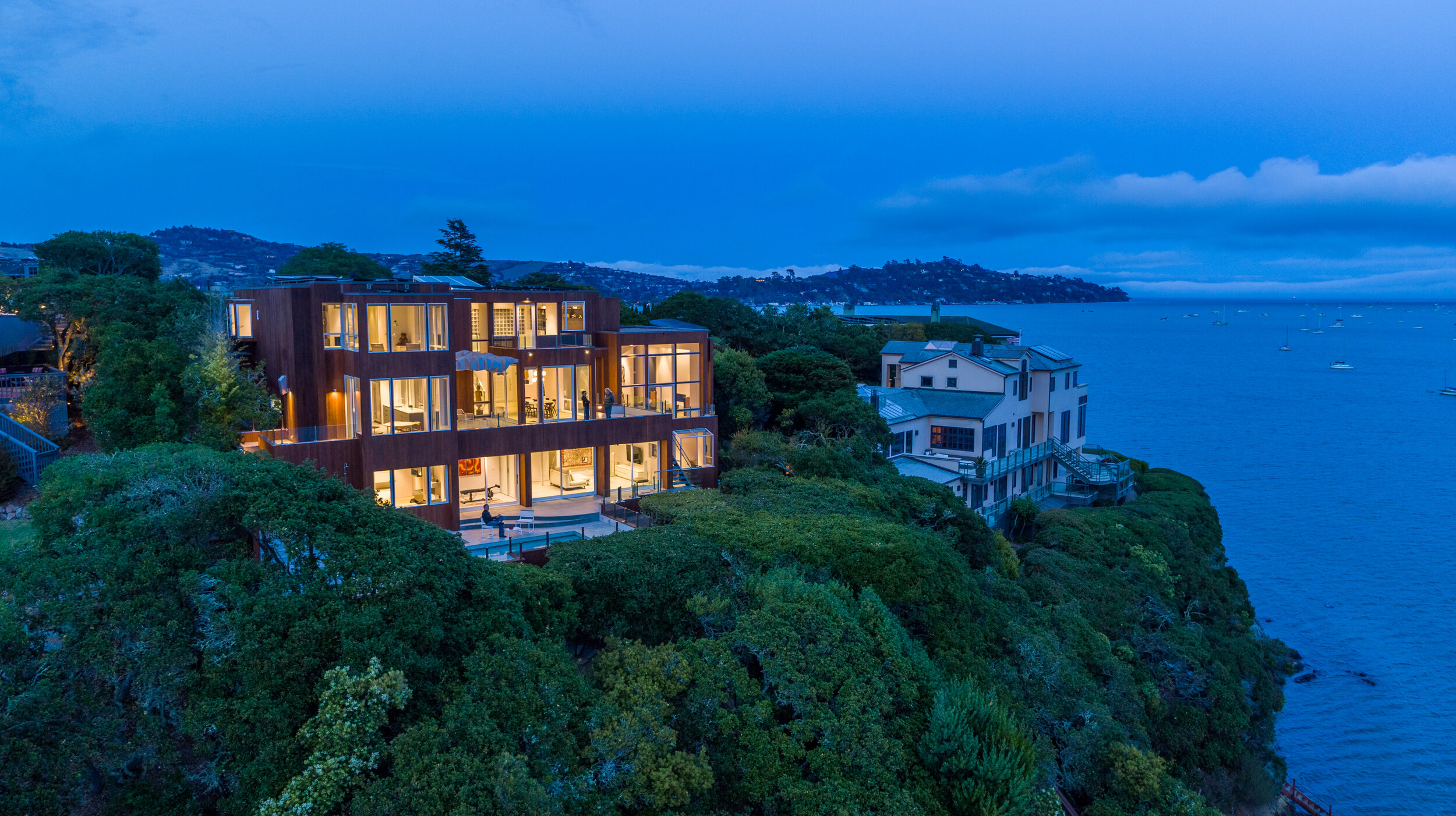 Blue hour photography in Tiburon