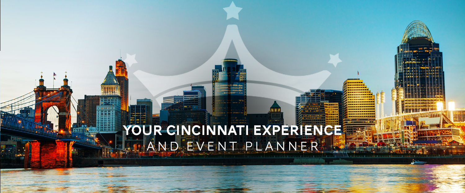 Queen City Destination (hello, that's us) is  your  go-to Destination Management Company in Cincinnati.