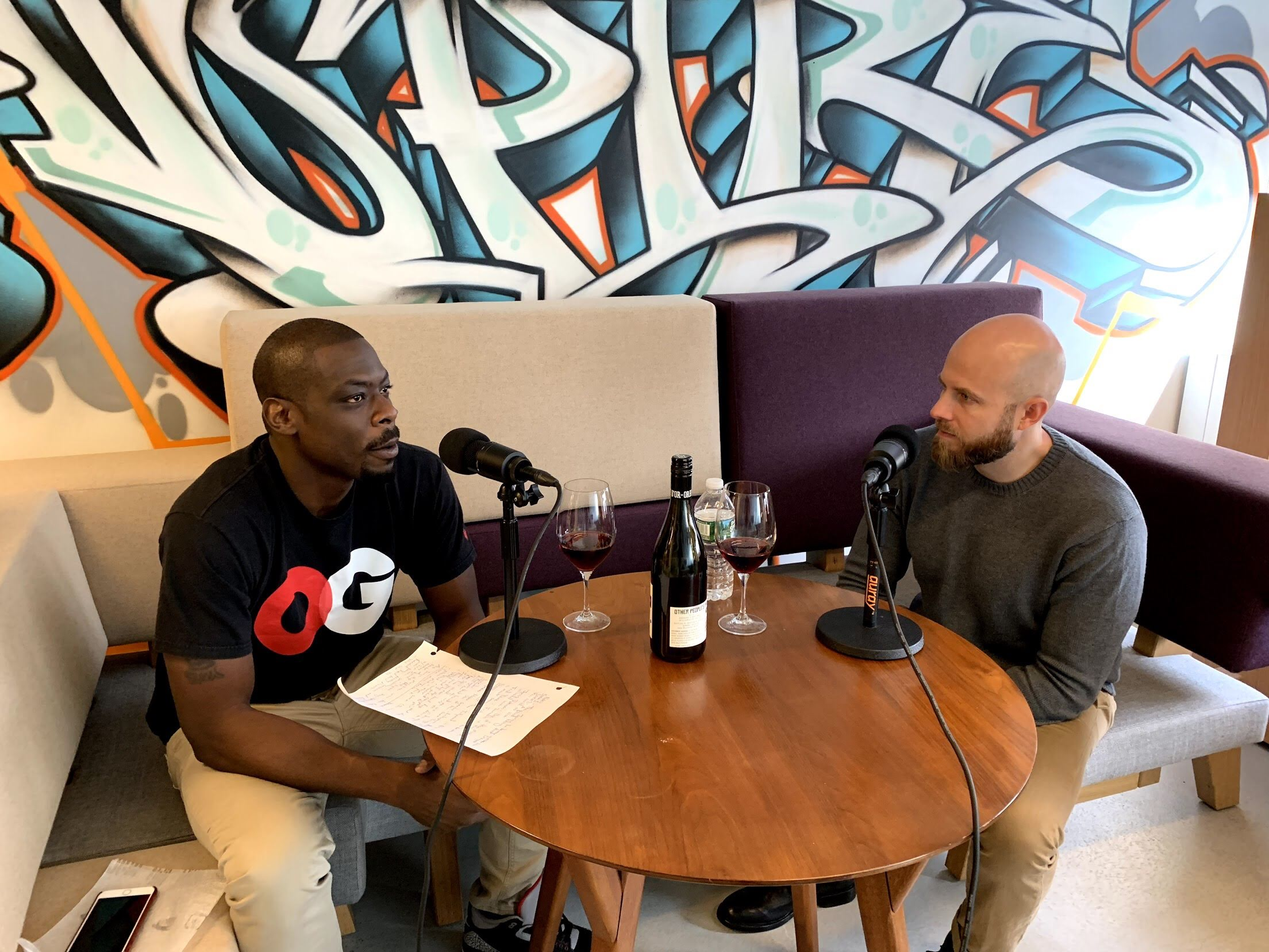 Jermaine Stone and Dustin Wilson on Wine and Hip Hop