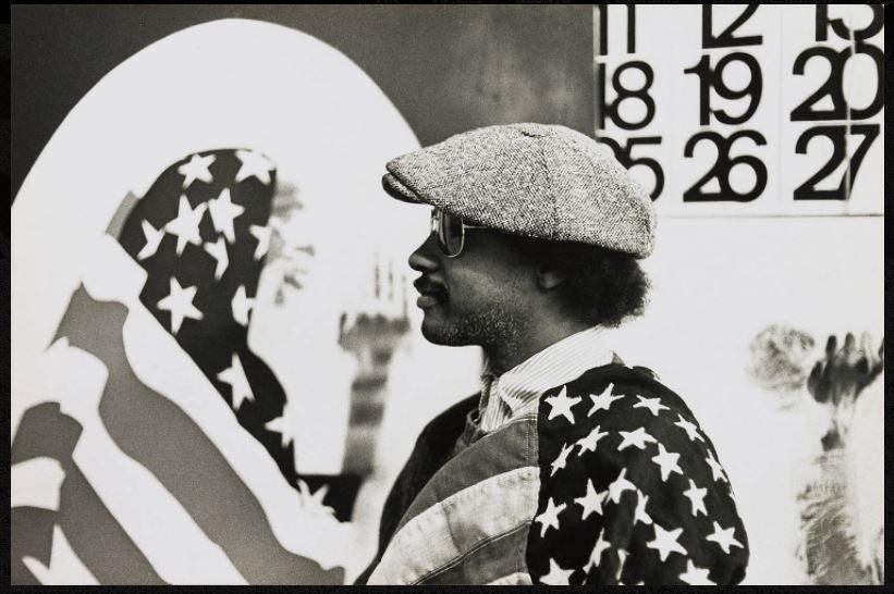 David Hammons in his studio (1970), with  Pray for America  (1969) shown at left and a portion of  Wine Leading   the Wine  (c. 1969). Photo: Robert A. Nakamura, courtesy of the Hammer Museum.   Alexander Gilkes ,    co-founder,      Paddle8    This is extremely difficult to narrow down, but strictly speaking to their influence:  Marcel    Duchamp,    David Hammons,     Yves Klein,     Mark Rothko,    Andy Warhol, Jean -Michel Basquiat,    Louise Bourgeois,    Cindy Sherman,    Damien Hirst,    Jackson Pollock, Chris Burden,    Robert Mapplethorpe ,    James Turrell,     Gerhard Richter,     Banksy,   and  Marina Abramović .