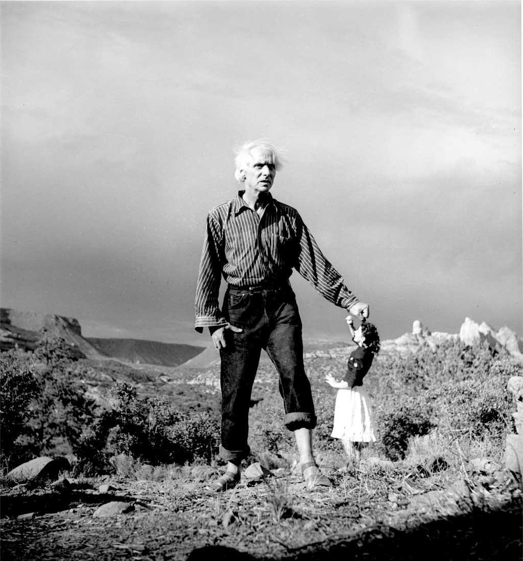 Lee Miller, Max Ernst and Dorothea Tanning, Oak Creek Canyon (1946) © Lee Miller Archives 2017