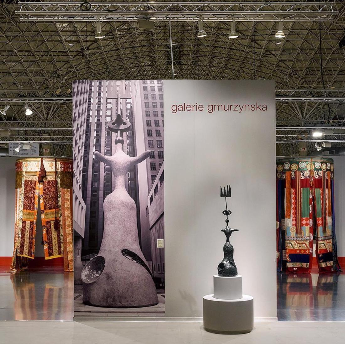 Installation view of Galerie Gmurzynska's booth at EXPO Chicago, 2017. Photo by @gmurzynska, via Instagram.