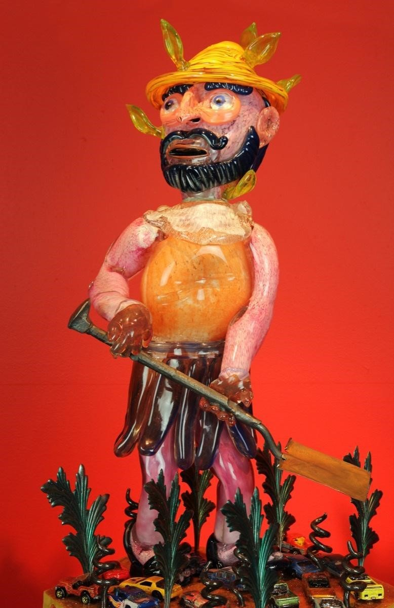 Einar & James de la Torre,  San Ysidro , 2014. Courtesy of the Craft and Folk Art Museum.