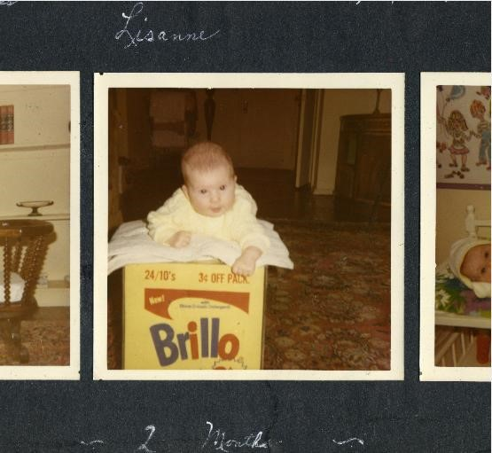 Lisanne Skyler on the Warhol Brillo box sculpture in 1969. (HBO)