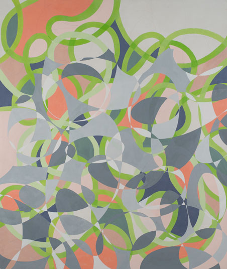 Peter Young,  #32A - 1993 , 1993, Acrylic on canvas, 79 1/4 x 67 1/2 inches (201.3 x 171.5 cm)