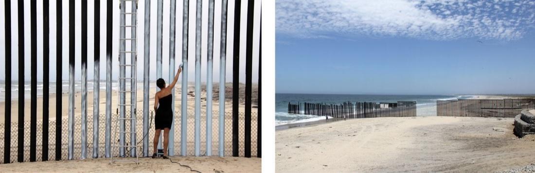 Ana Teresa Fernandez,  Erasing the Border (Borrando la Frontera) , 2012. Courtesy of the artist and Gallery Wendi Norris, San Francisco.