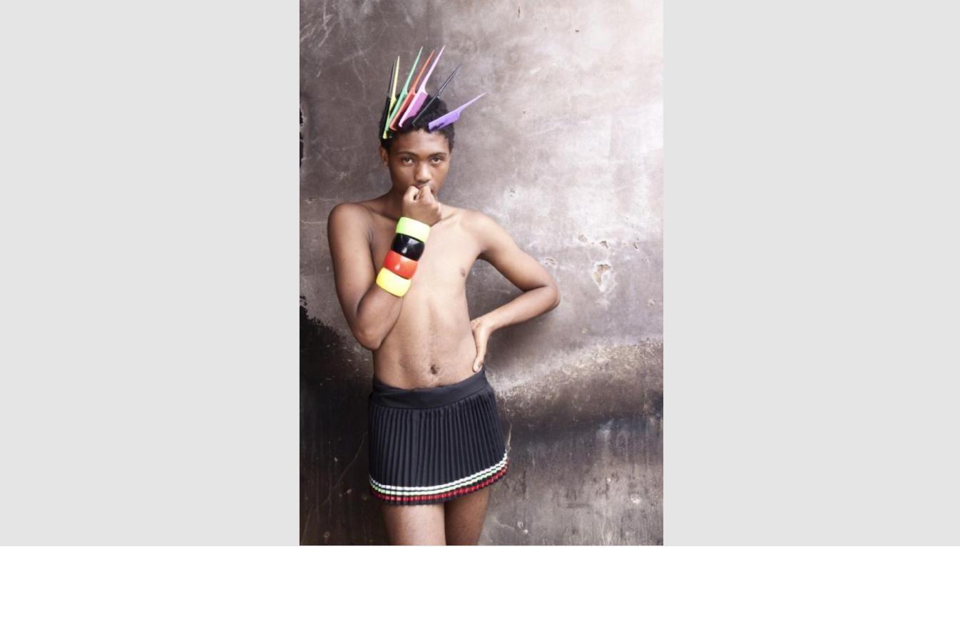 Zanele Muholi        Mini Mbatha , 2010    Yancey Richardson Gallery