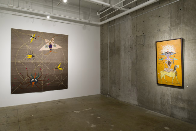 Leonora Carrington: The Celtic Surrealist,  installation view, Gallery Wendi Norris, San Francisco, CA, April 3 — May 31, 2014, © 2019 Estate of Leonora Carrington / Artists Rights Society (ARS), New York