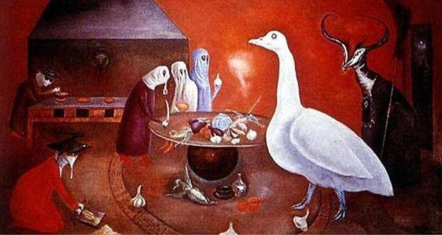 'Grandma Moorhead's Aromatic Kitchen' (detail), by Leonora Carrington
