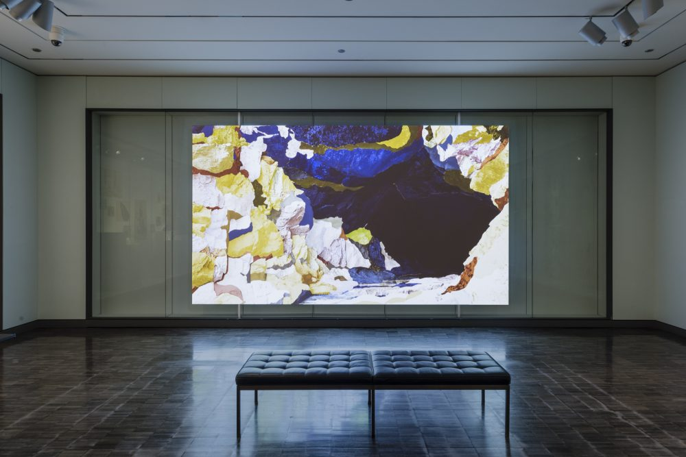 Ranu Mukherjee: Extracted,  installation view, Asian Art Museum, San Francisco, CA, November 6, 2015 — August 14, 2016