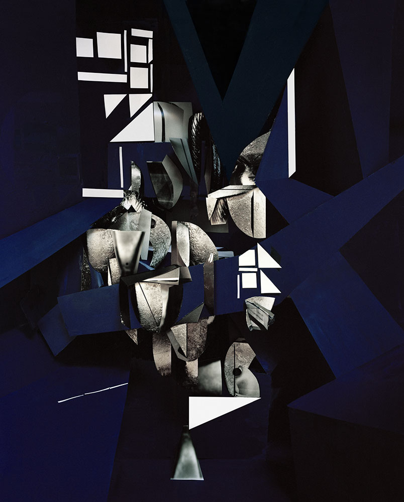 Yamini Nayar , Line of Reason,  2016, Lightjet print, 50 x 40 inches (127 x 101.6 cm), Edition of 5 +2 AP