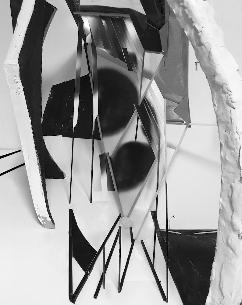 Yamini Nayar,  Untitled (Eclipse),  2017, Lightjet print, 11 x 14 inches (27.9 x 35.6 cm)