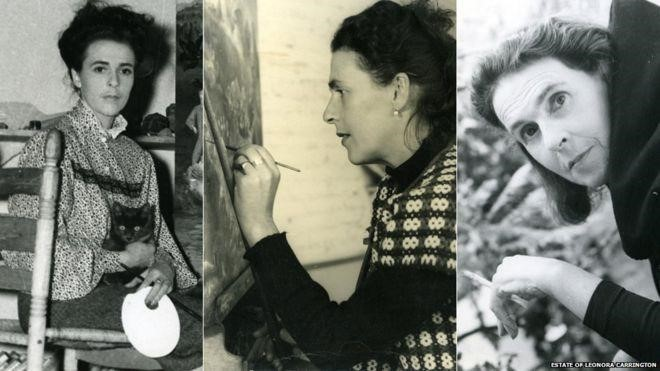 Leonora Carrington left Lancashire at the age of 18 and lived in London, Paris and Spain before settling in Mexico in the 1940s