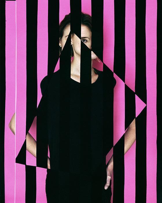 Hannah Whitaker,  Trapezoid Portrait  , 2014  Archival pigment print   The Return to Reason   Gallery Wendi Norris, San Francisco