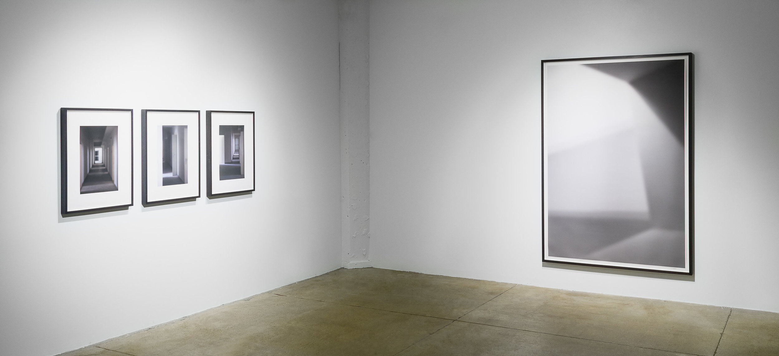 Eva Schlegel: Subverting Solidity,  installation view, Gallery Wendi Norris, San Francisco, CA, January 18 — March 18, 2017, photography: Hewitt Photography