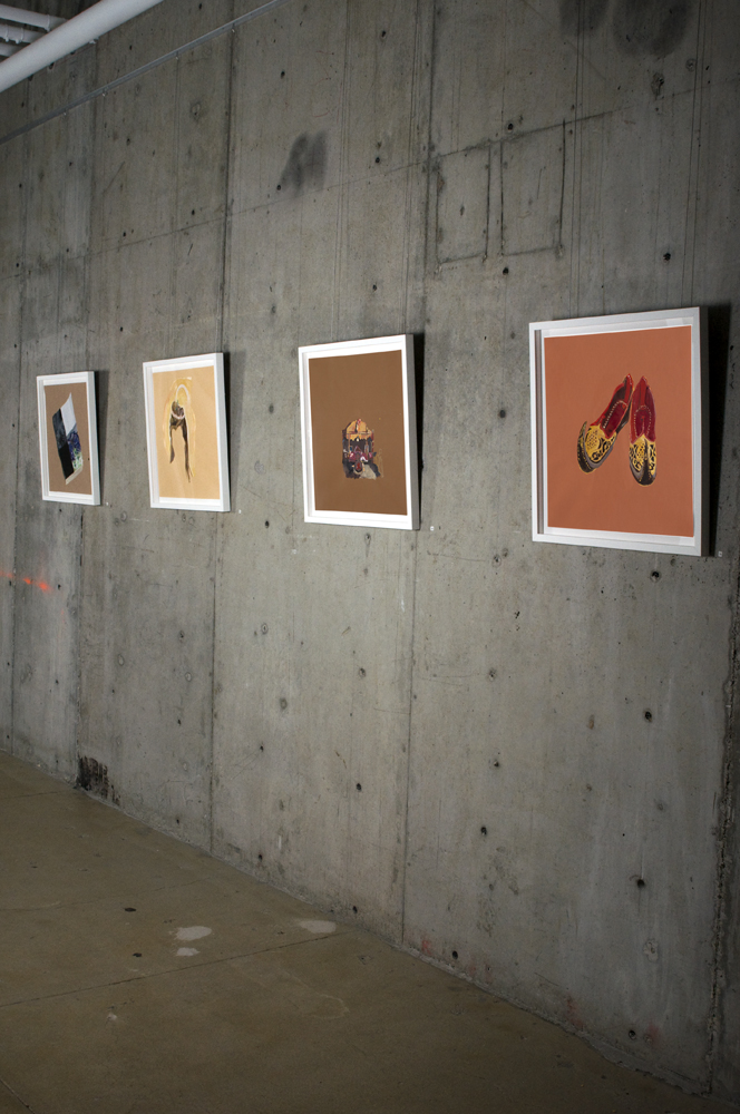 Ranu Mukherjee: Absorption into the Nomadic and Luminous,  installation view, Gallery Wendi Norris, San Francisco, CA, June 4 — July 30, 2011
