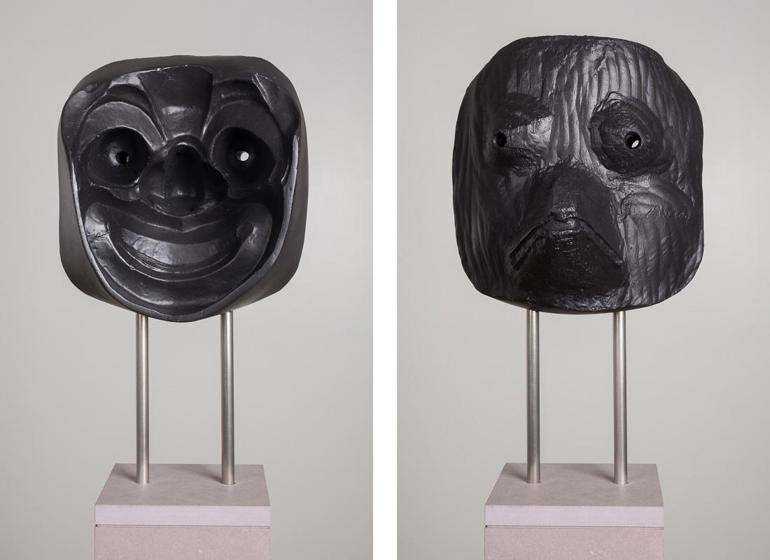Michael Fliri,  #1,  2014, Artestone, varnish, steel and MDF, 9 x 8 5/8 x 9 3/4 inches (22.9 x 21.9 x 24.8 cm), Edition of 3 + 1AP