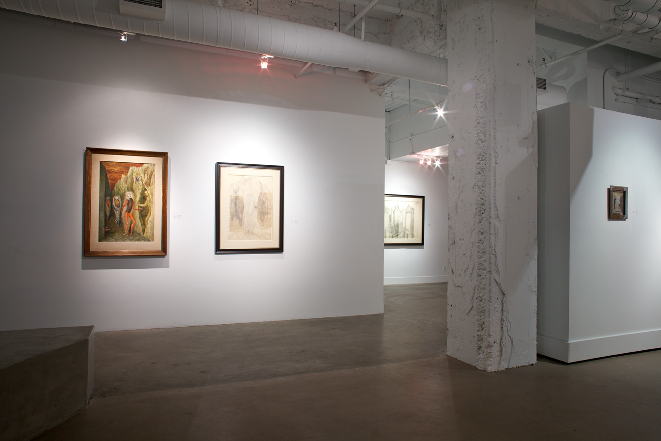 Remedios Varo: Indelible Fables,  installation view, Gallery Wendi Norris, San Francisco, CA, January 7 – February 26, 2012