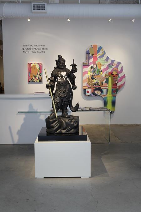 Tomokazu Matsuyama: The Future is Always Bright,  installation view, Gallery Wendi Norris, San Francisco, CA, May 3 — June 30, 2012