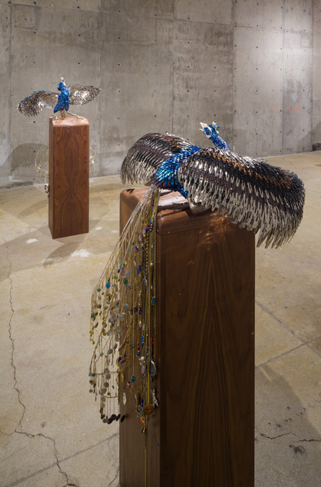 Laurel Roth: Flight of the Dodo,  installation view, Gallery Wendi Norris, San Francisco, CA, September 5 – October 26, 2013